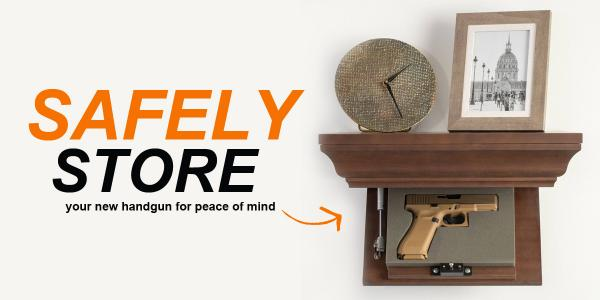 Safely Store Your New Handgun for Peace of Mind